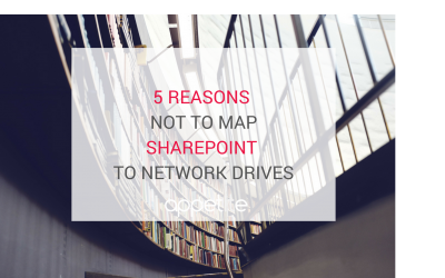5 reasons not to map sharepoint to network drives for documentation