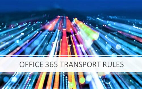 office 365 rules