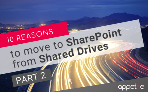 SharePoint from Shared Drives