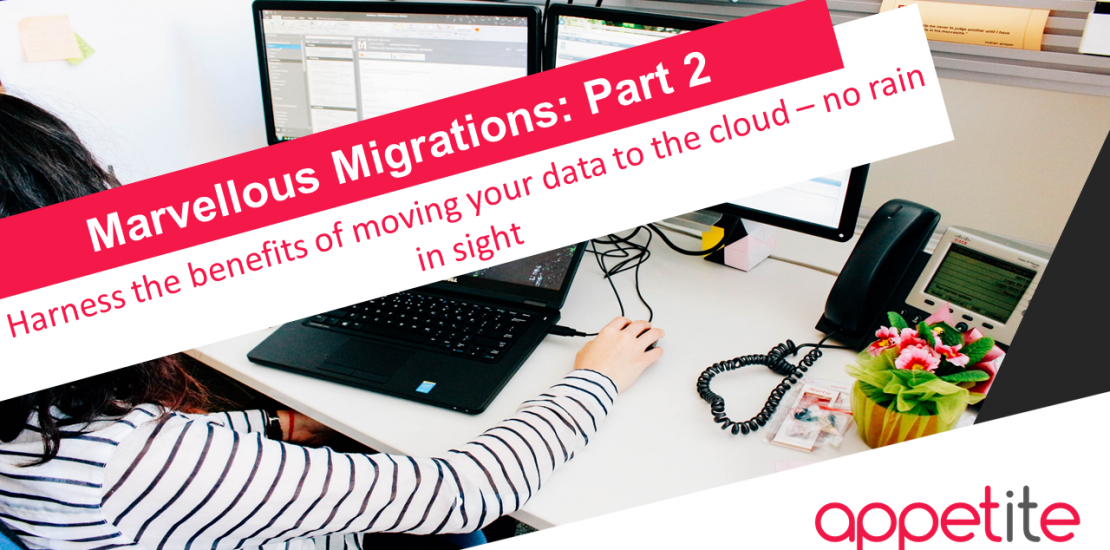 data migration to the cloud benefits