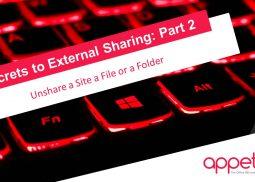 unshare a site a file or a folder