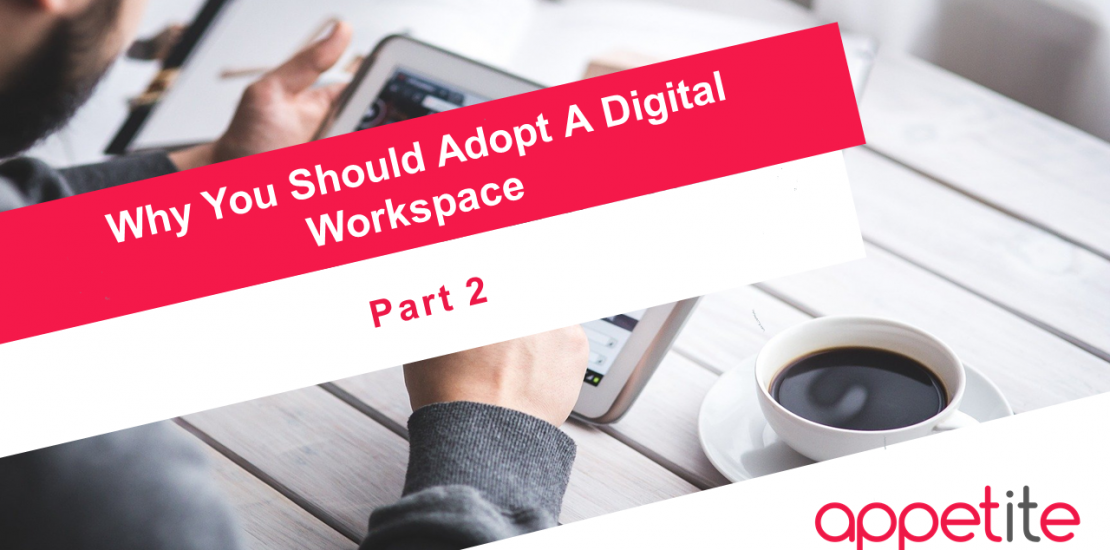 go digital workplace microsoft teams appetite for business