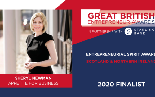 MD Sheryl Newman shortlisted for Great British Entrepreneur Awards