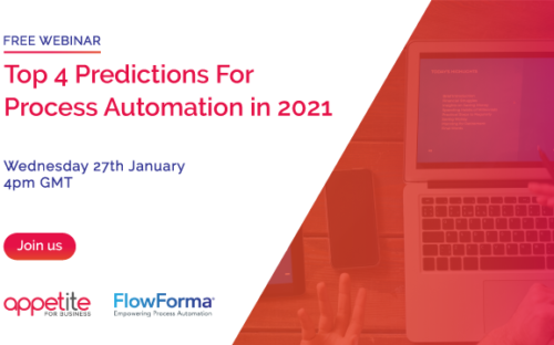 Advertising banner - Top 4 Predictions for Process Automation in 2021