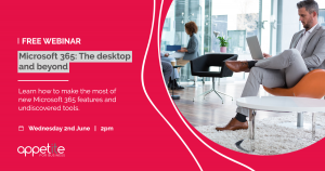Microsoft 365: The desktop and beyond webinar - graphic